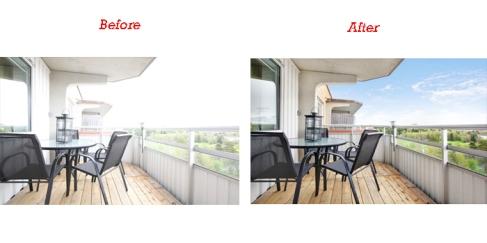 White Balance Adjustment Services for Real Estate Images