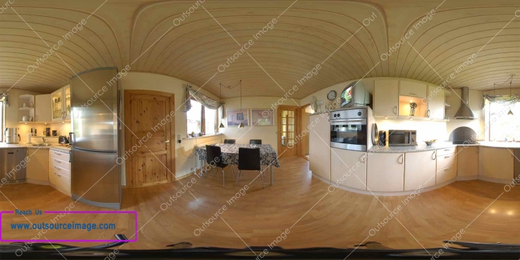 Panorama stitching service in low cost
