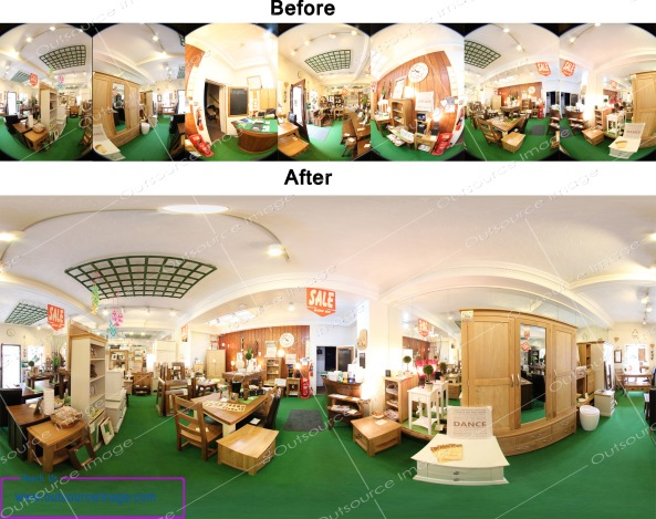 360 degree panorama stitching service provider