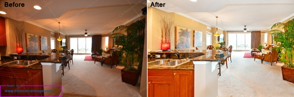 Outsource Real estate image editing services