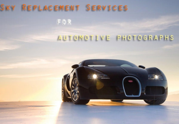 Sky Replacement Services for Automotive Photographs