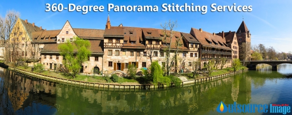 panorama image stitching services