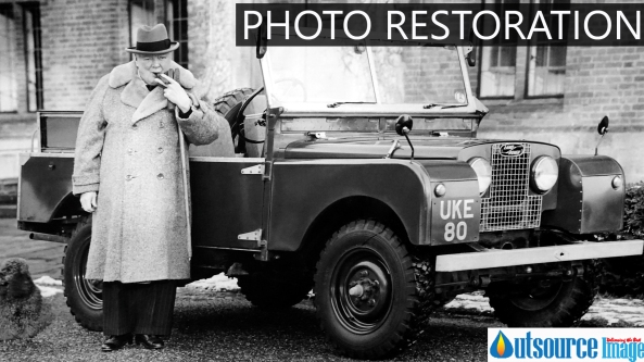 Digital photo restoration services