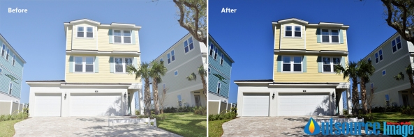 Real estate image retouching services