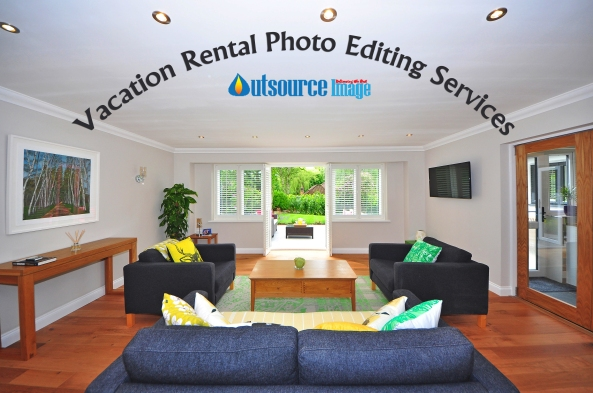 Holiday rental photo editing services