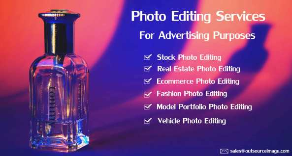 Advertising photography editing services