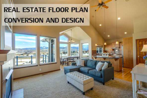 Real Estate Floor Plan Conversion