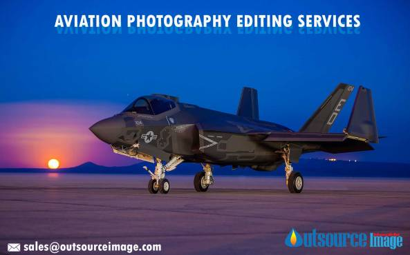 Aircraft photo editing services