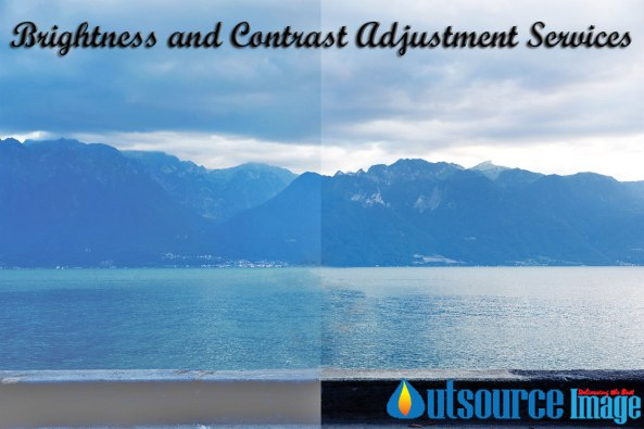 Image brightness & contrast adjustment