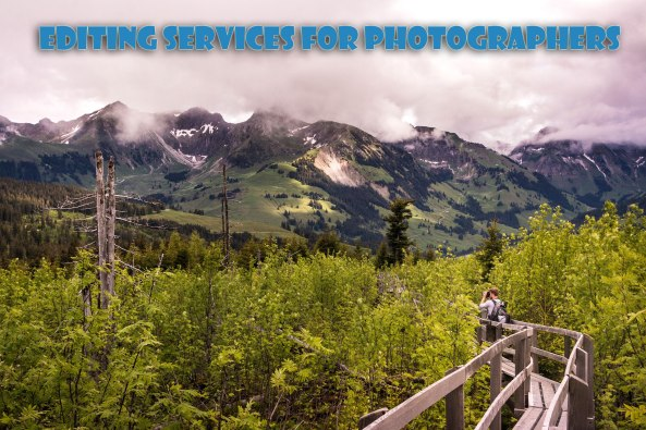 Photographer editing services