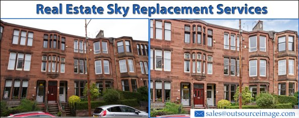 Real Estate Sky Replacement Services
