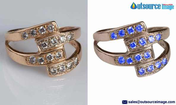 Jewelry Photo Clipping Services
