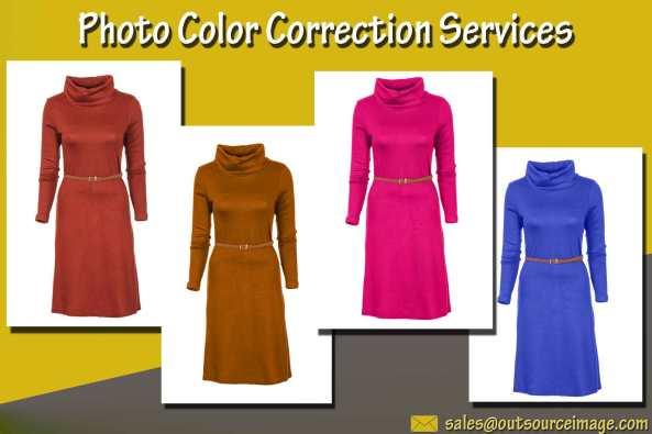 Photo color enhancement services