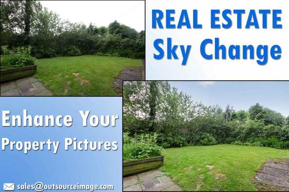Real estate sky change services