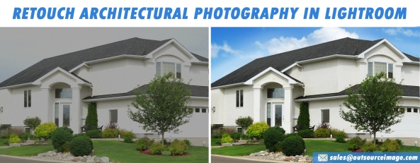 Architectural photography retouching services