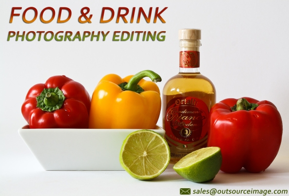 Food product photo editing services