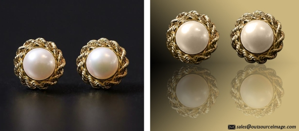 Jewelry image retouching services