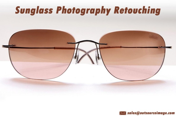 Sunglass photography editing services