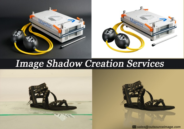 Image shadow creation services