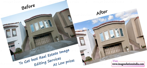 Realestate property photo editing